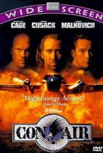 Con Air (1997) Cameron Poe, bekas US Ranger, dipenjara selama 7 tahun karena membunuh seseorang saat berusaha melindungi istrinya. Dia kemudian mendapatkan keringanan hukuman dan bisa pulang untuk menemui istri dan anaknya. Malangnya, dia harus terbang dalam satu pesawat dengan beberapa tahanan paling berbahaya yang kemudian mengambil alih pesawat