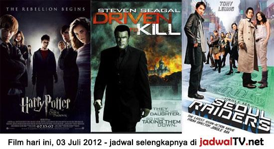 Jadwal Film dan Sepakbola 3 Juli 2012 - Jadwal TV