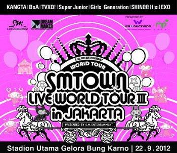 Liputan SMTown INA Concert di RCTI Jakarta kembali menjadi host konser musik K-Pop dari beberapa group dan penyanyi yang berada di bawah naungan SM Entertaintment (manajemen artis dari Korea Selatan). Konser yang dinamakan SMTown Live World Tour III ini akan berlangsung pada hari Sabtu, 22 September 2012 mulai sekitar pukul 7 malam di Stadium Utama […]
