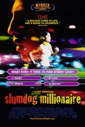 Sinopsis Slumdog Millionaire (2008) Tak ada yang mengira kalau Jamal Malik (Dev Patel) akan segera menjadi orang kaya. Jamal adalah seorang remaja yatim piatu yang tinggal di kawasan kumuh kota Mumbai. Namun secara misterius, remaja berusia 18 tahun ini dapat dengan mudah melangkah menuju babak terakhir kuis yang berhadiah 20 juta Rupee.  Satu