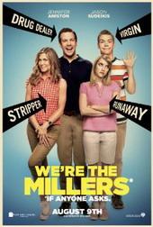 Sinopsis We're the Millers(2013) David Burke (Jason Sudeikis) adalah seorang pengedar ganja kecil-kecilan dan kliennya bermacam-macam profesi mulai dari koki, ibu rumah tangga dan atlet sepak bola. Ia mempelajari suatu hal, bahwa tidak ada perbuatan baik yang bisa pergi tanpa hukuman. Ketika ia mencoba untuk membantu beberapa remaja yang tinggal