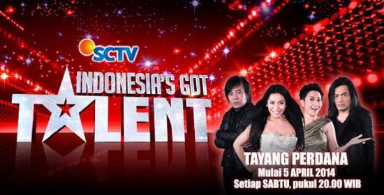 Indonesia's Got Talent SCTV Tayangkan Indonesia39s Got Talent Season 2 Jadwal TV