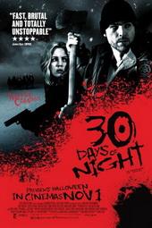 Sinopsis 30 Days of Night (2007) Film yang bercerita tentang manusia dan vampir ini mengambil setting di kota Barrow di negara bagian paling utara Amerika yaitu Alaska. Setiap kali memasuki musim dingin, Barrow adalah wilayah yang terputus dari peradaban. Selama 30 hari, distrik paling utara di Alaska itu menjalani 'rutinitas' rutin, yaitu