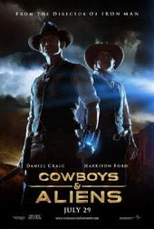 Sinopsis Cowboys & Aliens (2011) Jake Lonergan (Daniel Craig) mengalami amnesia atau lupa ingatan. Ia tak ingat apa yang telah terjadi pada dirinya dan tak ingat siapa dirinya lagi. Yang ia tahu, saat pertama kali terbangun, di pergelangan tangannya melingkar sebuah belenggu berbentuk aneh yang tak bisa ia lepaskan. Tak tahu harus bagaimana, satu-