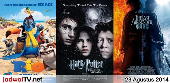 Jadwal Film dan Sepakbola 23 Agustus 2014 – RCTI 06.00WIB: A Bug's Life (1998 – animasi) – SCTV 06.30WIB: Coboy Junior The Movie (2013 – Coboy Junior, Abimana Aryasatya) – antv 07.30WIB: Ratu Ilmu Hitam (1983 – Suzanna, W.D. Mochtar, Teddy Purba) – GlobalTV 08.00WIB: Flushed Away (2006 – animasi) – RCTI 12.00WIB: Rio (2011 […]