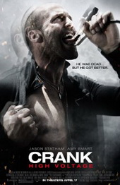 Sinopsis Crank: High Voltage (2009) Bila sebelumnya Chev Chelios (Jason Statham) harus memacu adrenalinnya untuk bisa tetap hidup, kali ini ia menghadapi kasus yang serupa meski kali ini ia akan membutuhkan banyak sumber daya listrik untuk membuatnya tetap hidup. Chev harus bertahan hidup dan mencari jantungnya yang telah ditukar oleh mafia Hong