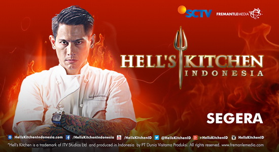 SCTV akan menayangkan program kompetisi memasak Hell's Kitchen Indonesia dalam waktu dekat. Hell's Kitchen merupakan program reality show yang cukup populer dan sekarang sudah tayang di berbagai negara seperti Inggris, Amerika, Jerman dan Rusia. SCTV sudah membeli hak siar Hell's Kitchen sebanyak 25 episode dengan masing-masing episode berdurasi 60 menit. Audisi telah dilakukan di lima […]