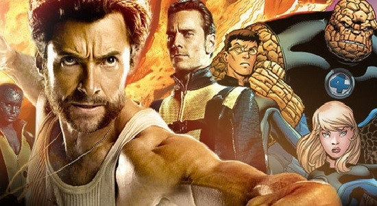 Proyek Satu Frame Film X-Men dan Fantastic Four Bocor