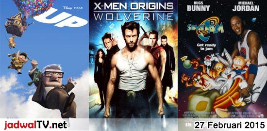Jadwal Film dan Sepakbola 27 Februari 2015 – GlobalTV 18.30WIB: Up (2009 – animasi) – GlobalTV 21.00WIB: Rambo III (1998 – Sylvester Stallone, Richard Crenna, Marc de Jonge) – RCTI 22.45WIB: X-Men Origins:Wolverine (2009 – Hugh Jackman, Liev Schreiber) – GlobalTV 23.00WIB: Hitman (1998 – Jet Li, Eric Tsang, Simon Yam) – antv 01.30WIB: Sundel […]