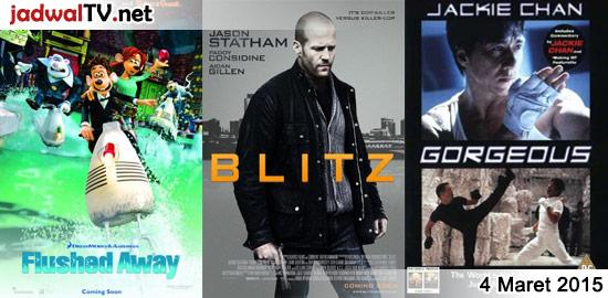 Jadwal Film dan Sepakbola 4 Maret 2015