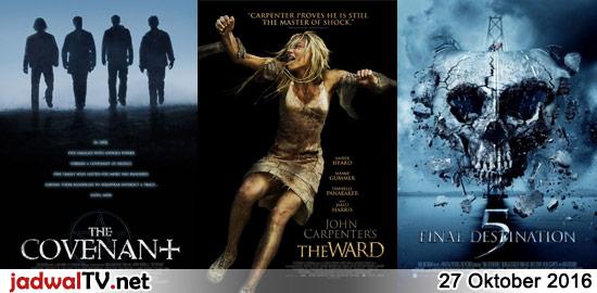 Jadwal Film 27 Oktober 2016