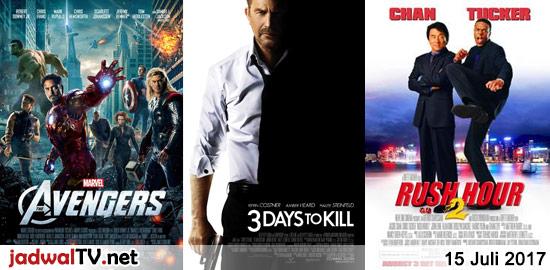 Jadwal Film dan Sepakbola 15 Juli 2017 – RCTI 06.30WIB: Doraemon, Nobita dan 3 Pendekar Fantasi (animasi) – GlobalTV 07.00WIB: Tangled (2010 – animasi) – RCTI 08.30WIB: Casper (1995 – Bill Pulman, Christina Ricci, Devon Sawa) – RCTI 12.00WIB: Frozen (2013 – animasi) – GlobalTV 19.00WIB: The Avengers (2012 – Robert Downey Jr., Chris Evans, […]