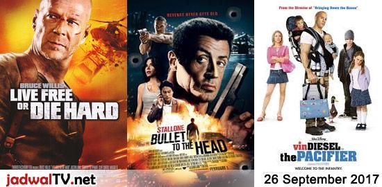 Jadwal Film dan Sepakbola 26 September 2017