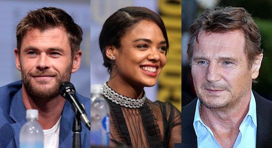 Chris Hemsworth, Tessa Thompson & Liam Neeson Akan Bergabung Di Spin-Off Film Men In Black
