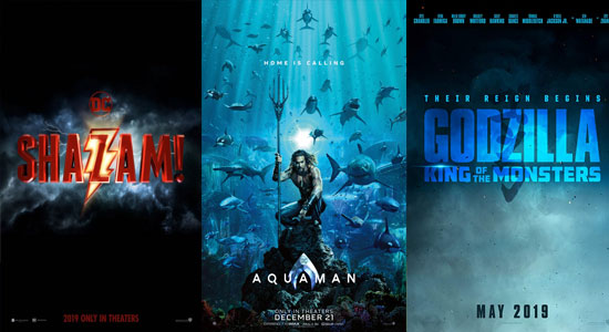 Simak Trailer Baru Comic Con Untuk Shazam, Aquaman, Godzilla: King Of Monsters Dan Glass